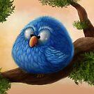 Blue bird by Alexander Skachkov