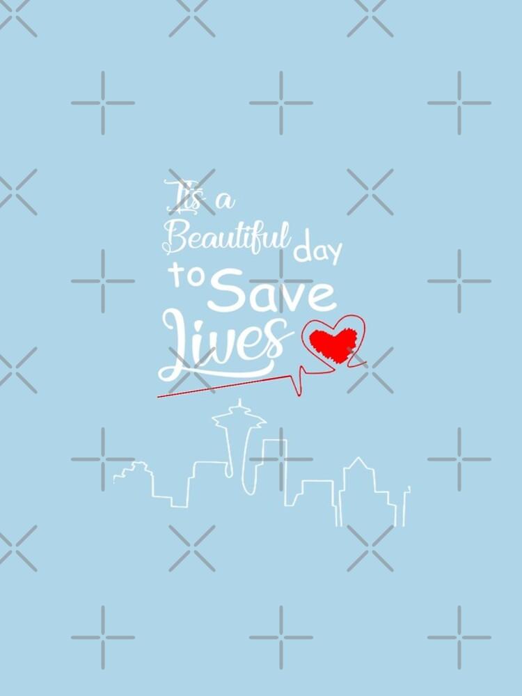 Es ist ein schöner Tag, um Leben zu retten von tessBuzz