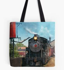 Train - Strasburg Number 9 Tote Bag