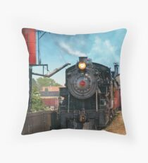 Train - Strasburg Number 9 Throw Pillow