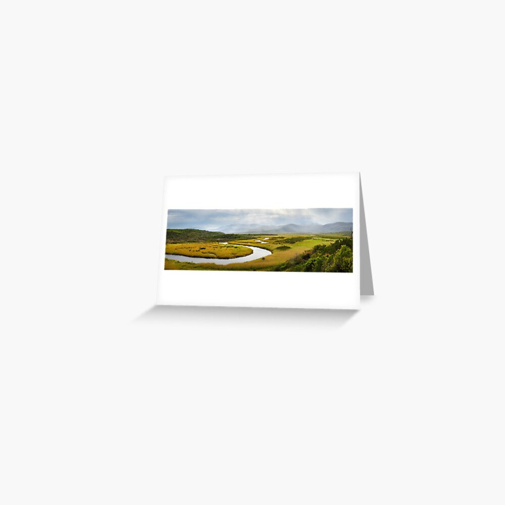 Darby River, Wilsons Promontory, Victoria, Australia Greeting Card