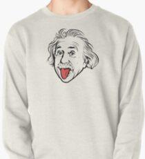 Sudadera cerrada Ilustraciones de Albert Einstein Con su famosa foto que muestra la lengua, camisetas, impresiones, pósters, bolsos
