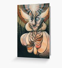 The Arousal of Brahma  Greeting Card
