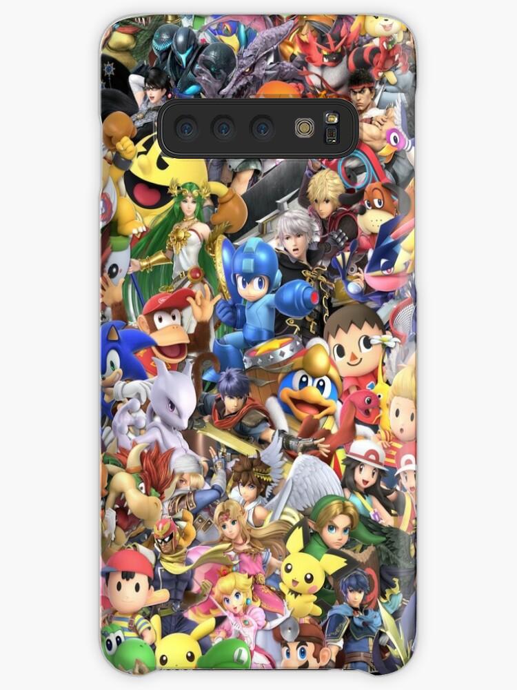Super Smash Bros Ultimate - Charakter-Collage von Jye O'Toole