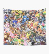 Super Smash Bros Ultimate - Charakter-Collage Wandbehang