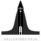 Reykjavik Island Hallgrímskirkja  von 66latitudenorth