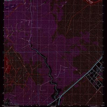 USGS TOPO Map Louisiana LA Bayou Boeuf 331382 1998 24000 Inverted by wetdryvac