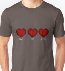 Love, Die, Repeat Unisex T-Shirt