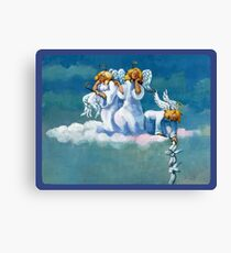 escape of an angel Canvas Print