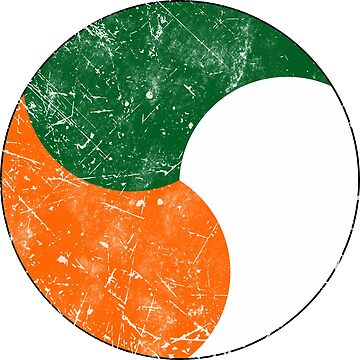 Flag of Ireland Roundel Air Force by quark