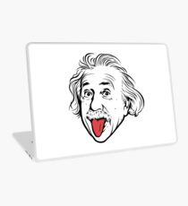 Albert Einstein Artwork With his famous photo showing tongue, Tshirts, Prints, Posters, Bags Laptop Skin