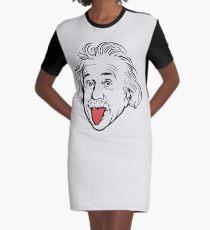 Vestido camiseta Ilustraciones de Albert Einstein Con su famosa foto que muestra la lengua, camisetas, impresiones, pósters, bolsos