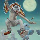 The Budgie-Shaman by Cody Seekins