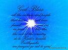 GOD BLESS THE EARTHQUAKE VICTIMS by SherriOfPalmSprings Sherri Nicholas-