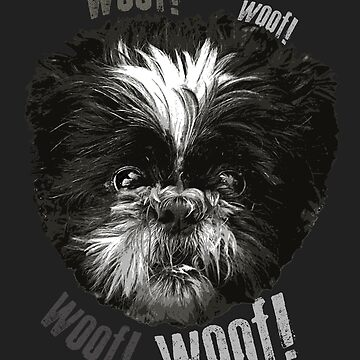 «Shih-Tzu dit Woof! Trame!» par jaytaylor