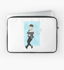 "Connor Detroit become human ""Workaholic"" Laptop Sleeve"