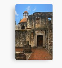 Colonial Style Old Convent Canvas Print