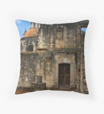 Colonial Style Old Convent Throw Pillow