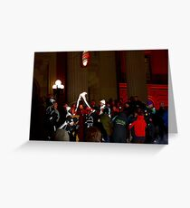 Olympic Torch Greeting Card