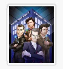 The Doctors Four Sticker