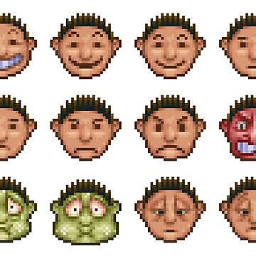 Rollercoaster Tycoon - Faces by Seneca97