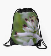 Macro Flower Drawstring Bag