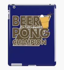 Beer Pong Funny TShirt Epic T-shirt Humor Tees Cool Tee iPad Case/Skin