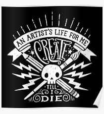 Artist's Life Poster