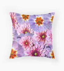 Summer Flowers Photoart Throw Pillow