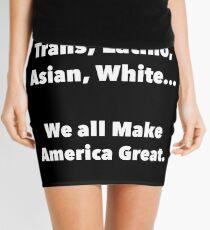 We all make America Great Mini Skirt