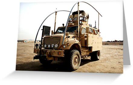 MRAP in Iraq by Charles Buchanan