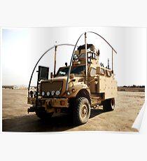 MRAP in Iraq Poster