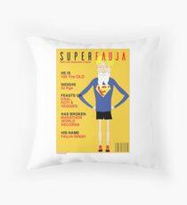 Real Life Superhero Throw Pillow