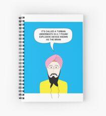 What under the Turban? Spiral Notebook