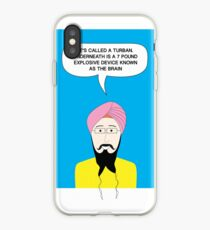 What under the Turban? iPhone Case