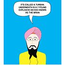What under the Turban? by Vishavjit Singh