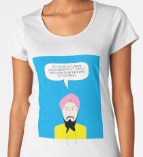 What under the Turban? Women's Premium T-Shirt