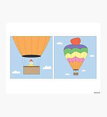 Sikh Air Balloon Photographic Print