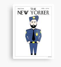 Sikh New Yorker Metal Print