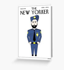 Sikh New Yorker Greeting Card