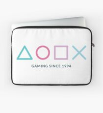 Playstation Gaming Since 1994 T-Shirt / Gamer Gift Design Laptop Sleeve