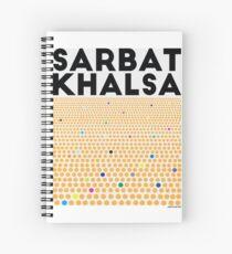 Sarbat Khalsa: Grand Gathering of Sikhs Spiral Notebook