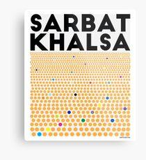 Sarbat Khalsa: Grand Gathering of Sikhs Metal Print