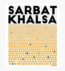 Sarbat Khalsa: Grand Gathering of Sikhs Photographic Print