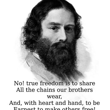 No True Freedom Is - James Russell Lowell by CrankyOldDude
