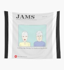 Cutting Edge therapy for head covering phobia Wall Tapestry