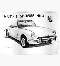 Triumph Spitfire Poster