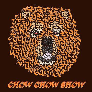 Chow Chow Dog by Karotene