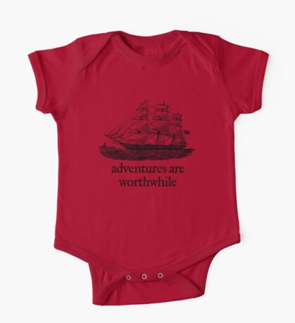 Adventure Are Worthwhile Kids Clothes