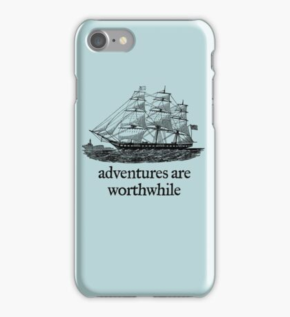 Adventure Are Worthwhile iPhone Case/Skin